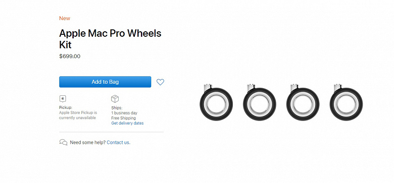 Wheels for Mac Pro