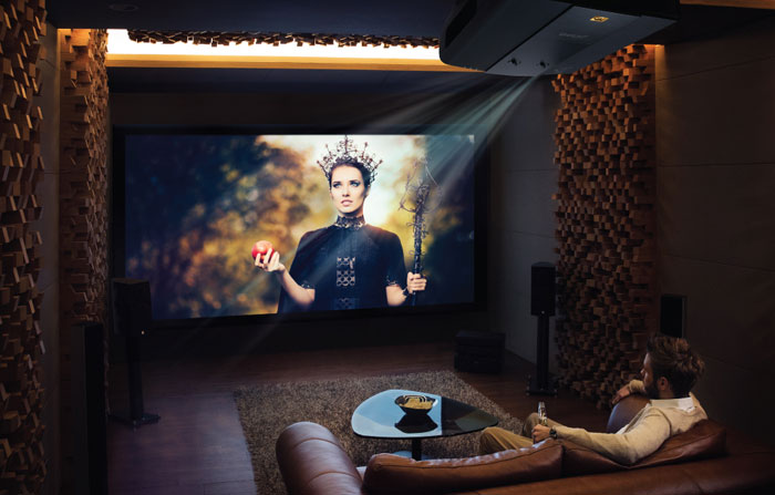 good 4K projector for the living room
