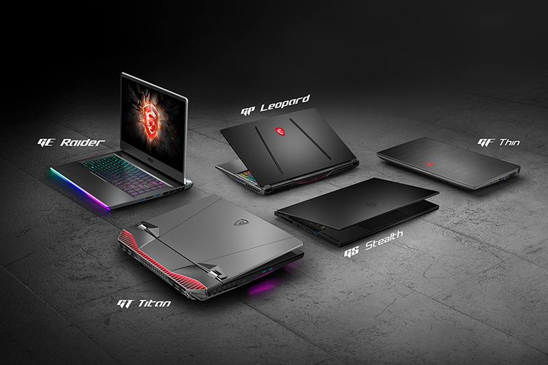 10th generation MSI laptops