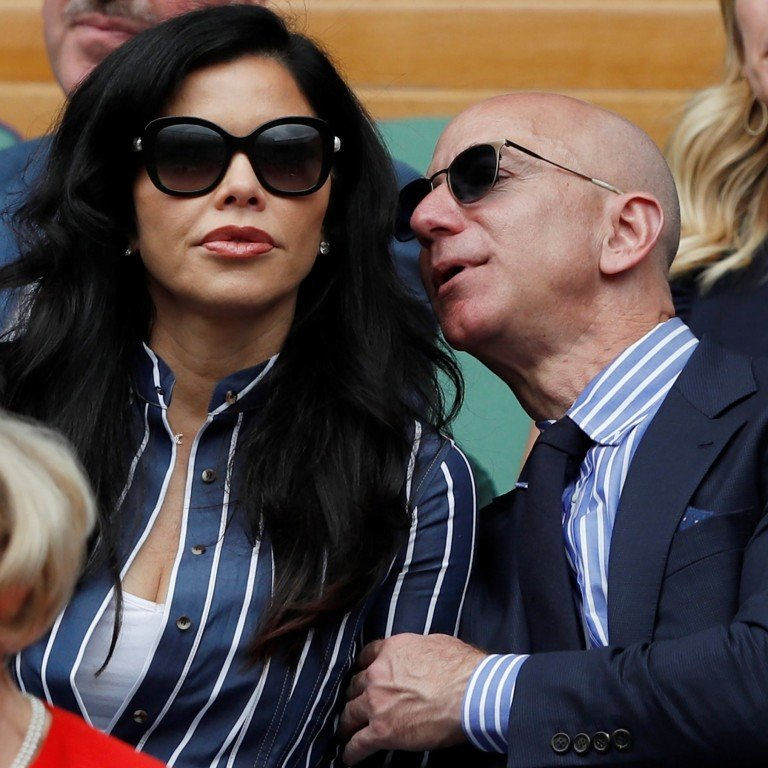 Bezos only announced a divorce