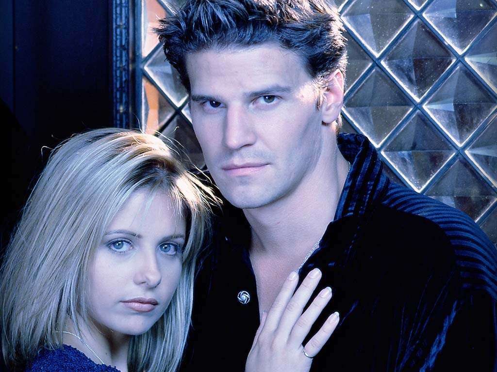 After parting, Buffy and Angel met more than once - mainly in books based on TV shows.