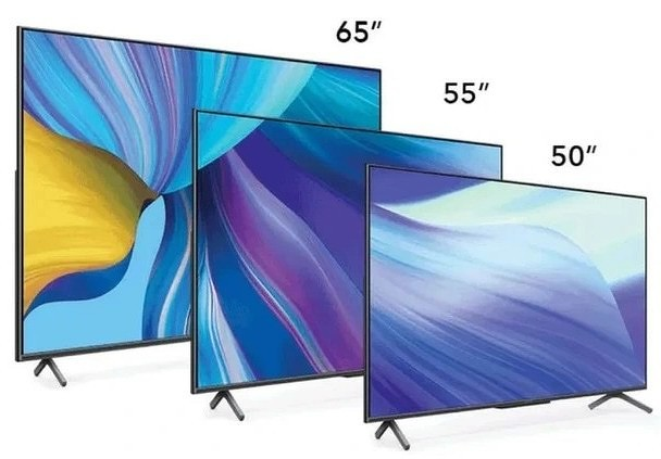 Huawei now has five TVs with Harmony OS
