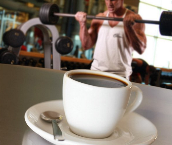 drink coffee before workouts