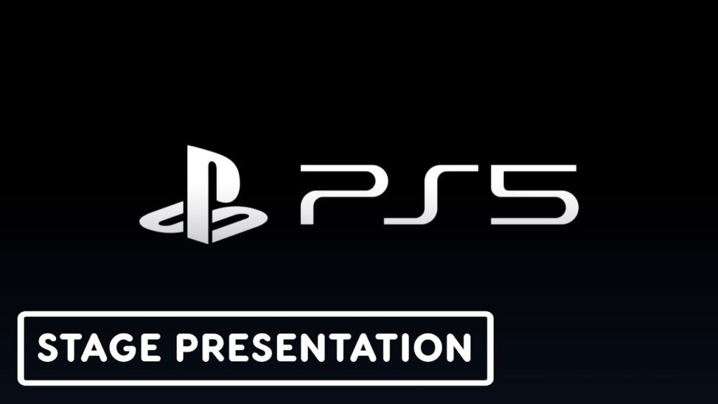 official presentation of the PS5