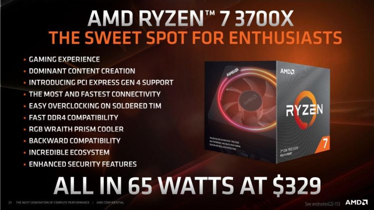 Amd Matisse Prices Start To Move Ryzen 7 3700x Drops To 260