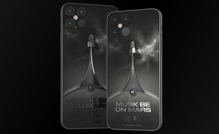 Caviar introduced the Martian iPhone 12 Pro named after Elon Musk - Phone Mantra