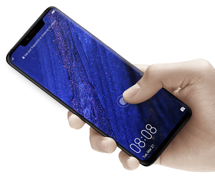 Huawei has filed a patent for a full-screen fingerprint sensor that will make it easier to interact with a smartphone - Phone Mantra