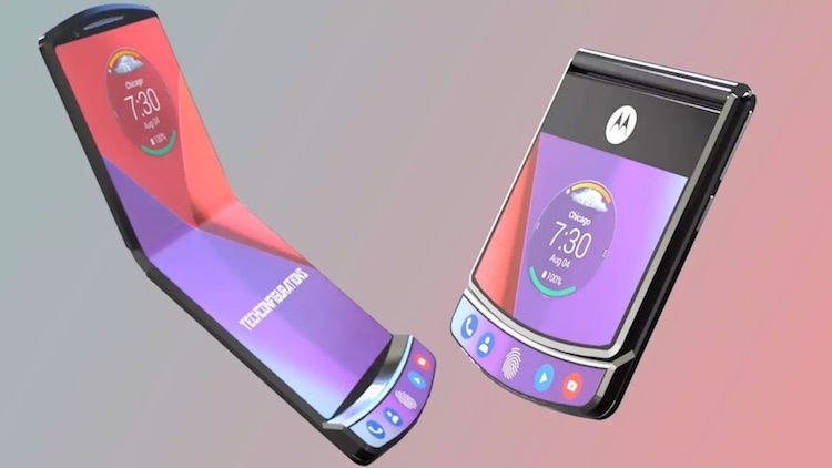 Motorola decided to enlarge the screen of the second generation RAZR clamshell - Phone Mantra
