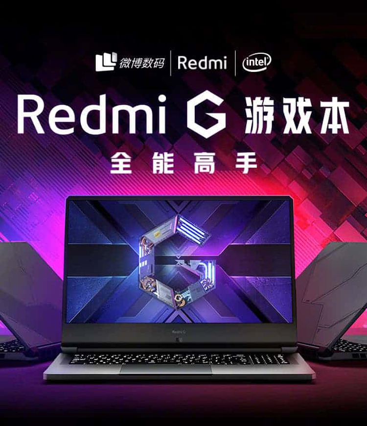Xiaomi gives Redmi G gaming laptop a 16.1