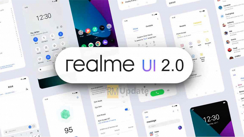 Realme UI 2.0 based on Android 11 presented. This is a copy of ColorOS 11 - Phone Mantra
