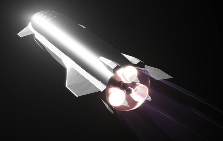 Video: SpaceX first fired a vacuum version of the Raptor engine for Starship - Phone Mantra