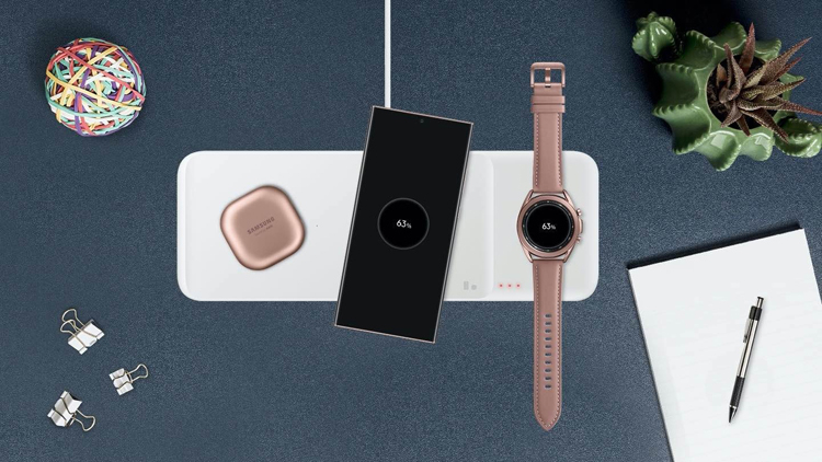 Samsung Wireless Charging Trio is capable of delivering up to 9W of power - Phone Mantra