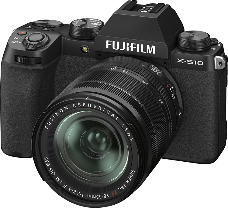 Fujifilm's X-S10 packs a lot of features into a $1,000 body