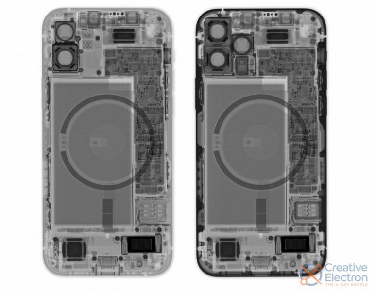 iPhone 12 disassembled
