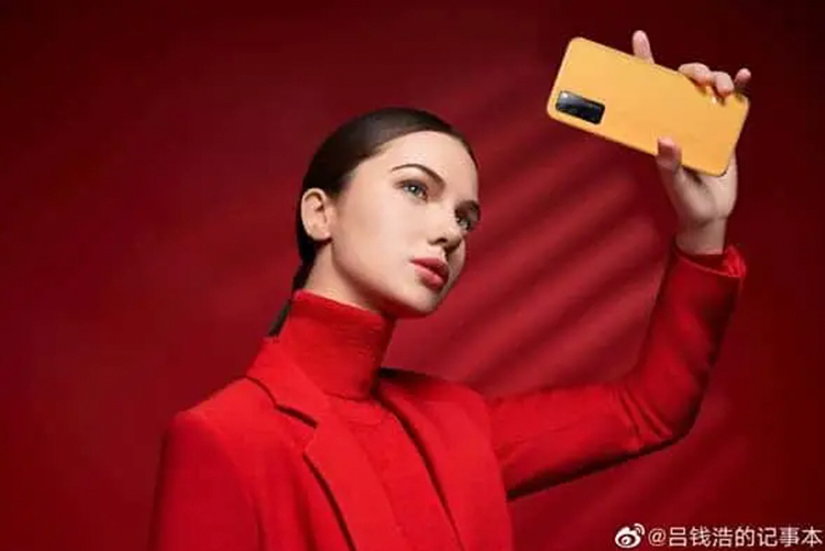 The flagship ZTE Axon 30 with a sub-screen camera appeared on advertising posters - Phone Mantra
