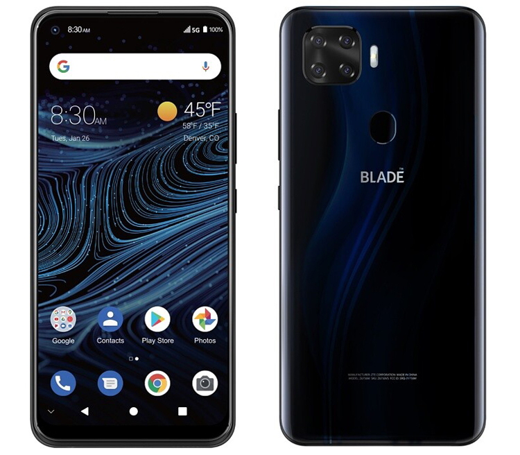Smartphone ZTE Blade X1 with 5G support received a quad camera and an FHD + screen - Phone Mantra